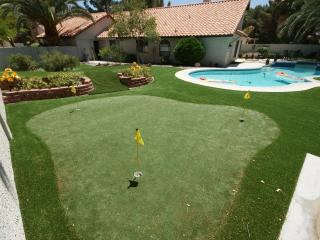spa! pool! , PITCH & PUTT in yard,  GOLF Course, Henderson