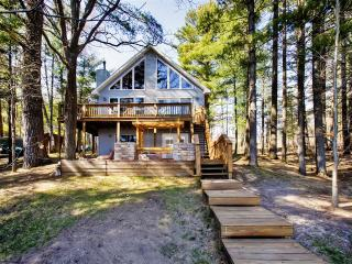 3BR Gaylord House on Private Lake w/Dock, 2 Kayaks & Paddleboat - Near Many Golf Courses, Lakes, Restaurants & More!