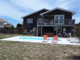 Ocean Views! Private Pool! Hot Tub Always Open!, Kitty Hawk