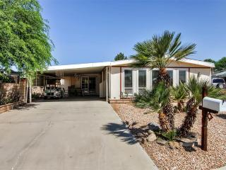 New Listing! Beautiful & Sunny 2BR Palm Desert Home w/Wifi, Private Patio & Mountain Views - Near Several Amazing Golf Courses, Restaurants, Water Park, Shopping & More!