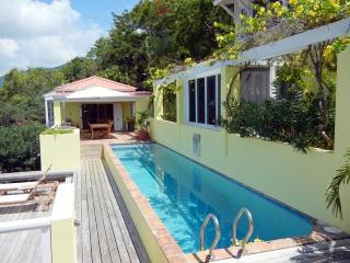Beautiful Estate Villa overlooking Long Bay Beach, Tortola