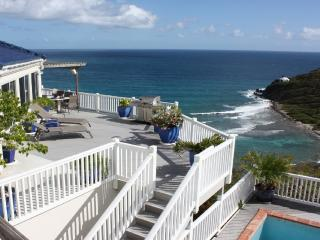 Andante by the Sea, 3 bdrm, 3 bath, Oceanfront, Cruz Bay