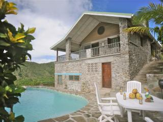 The Stone House- with Bay View, Marigot Bay