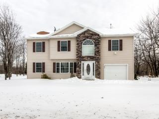 Beautiful 3BR Long Pond House w/Wifi, Private Back Porch & Stunning Views - Close to Shopping, Water Parks, Casinos, Hiking & Many Other Pocono Attractions!