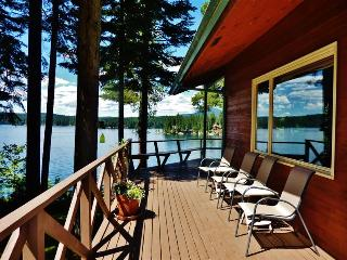 Scenic 4BR Waterfront Hayden Lake House w/Large Private Dock, Multiple Decks & Spectacular Lake Views - Near Golf Courses, Shopping & More!