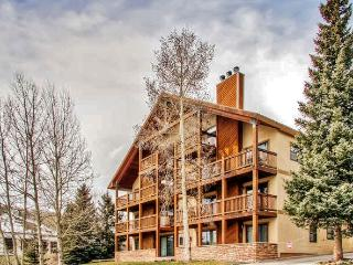 Perfectly Located 2BR Mt. Crested Butte Condo w/Wifi, Large Private Deck & Fabulous Mountain Views - Walking Distance to Ski Area Base, Dining & Hiking!