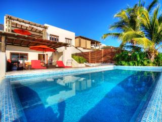 Los Veneros beach penthouse with own pool & palapa, Punta de Mita