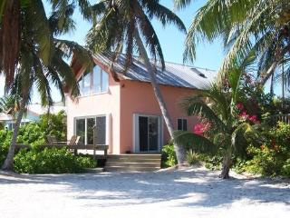 Beachfront home, private and gated beach estate, Summerland Key