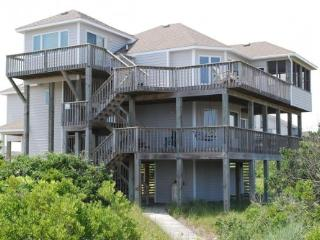 Third house from water, great ocean views!, Corolla