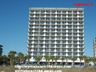 OceanFront Penthouse 1 Bedroom Condo Located at the Board Walk, Myrtle Beach