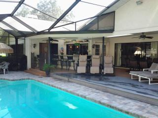 Tropical Resort Home,Htd Pool, SPA, WIFI, HBO, New Port Richey