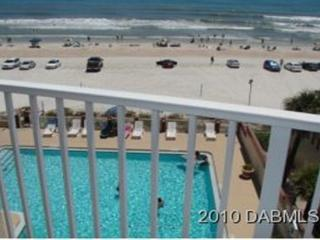 Affordable 1 Bedroom Direct Oceanfront Condo, Daytona Beach