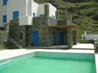 Magestic Aegean blue view, Andros