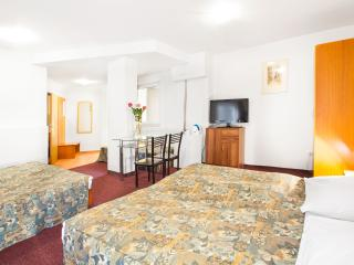 5 persons room with private bath in top location, Prague