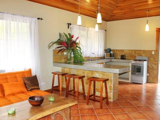 VILLA (2 bedr 2 bath) 1,5 km to Beach. Waterfall !, Playa Hermosa