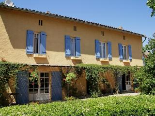 Farmhouse, Rural location with gardens and pool, Puylaurens