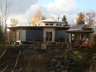 Off-Grid Solar Shipping Container Cottage, Bobcaygeon