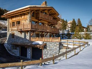 Chalet for 10 people sauna, garage & garden, Megeve