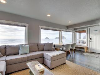 Renovated oceanfront, pet-friendly condo - room for 6!, Oceanside