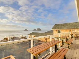 Dog-friendly modern home with beachfront views!, Oceanside