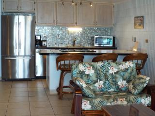 BEACHFRONT Condo on Quiet. SANDY Beach-OCEANFRONT, Hauula