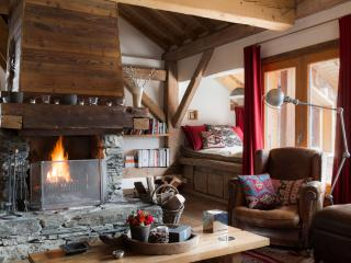 Luxury slope-side chalet with spa, Meribel