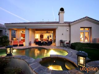 Norman`s Hideaway in La Quinta with Private Pool & Spa, and Epic Golf Course and Mountain Views