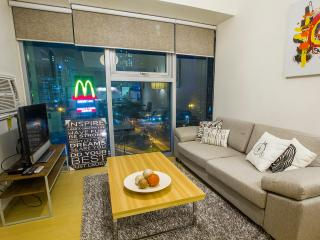 City View from a Modern 1BR in BGC, Taguig City