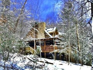 Custom Log Home, Quiet Mtn.Setting, Close to Town,, Sevierville