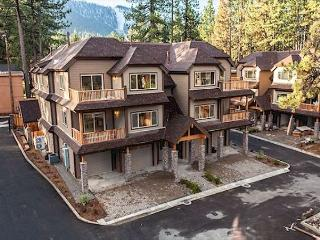 Brand New Gated Townhome Walk to to Heavenly Village, Beach, and Casinos, South Lake Tahoe