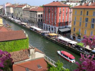 Charming flat on the Naviglio Grande, Milan