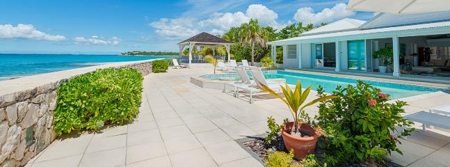 Villa Ecume Des Jours SPECIAL OFFER: St. Martin Villa 372 Superb Beachfront Location At The End Of Beautiful Plum Bay Beach. Enjoy The Spectacular Sunsets And Fabulous Sea Views., St. Maarten-St. Martin