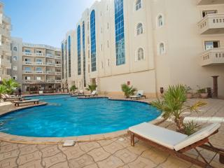 Beautiful apartment across the road from the beach, Hurghada