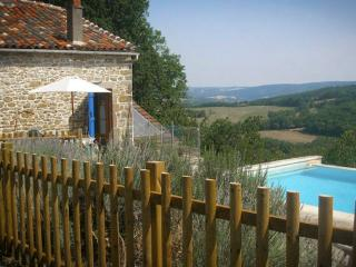 Secluded hideaway - private pool & stunning views, Saint-Antonin Noble Val