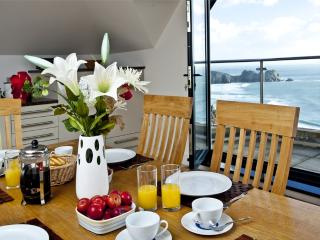 The Penthouse, Porthcurno located in Penzance, Cornwall