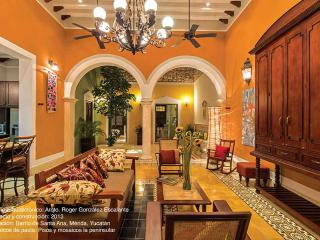 Casa Castellanos renovated in 2013 Colonial Jewel, Merida