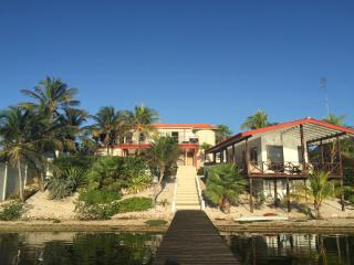 Lovely waterfront villa 11 with private beach, Curacao