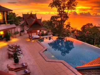 Elegant pool villa with stunning sea views, Bang Tao Beach