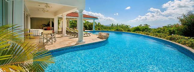 Villa Lune De Miel SPECIAL OFFER: St. Martin Villa 95 A Wonderful Honeymoon Or Other Special Occasion Villa Located On The Hillside In Terres Basses Offering Great Views Of The Sea.