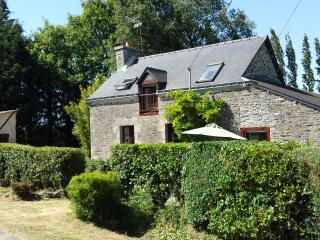 Beautiful tranquil cottage in private surroundings, Pontivy