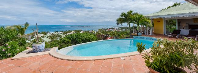 St. Martin Villa 363 A Superb, Newly Renovated Home With Breathtaking Views Of The Atlantic Ocean, Anguilla And St Barth., Orient Bay