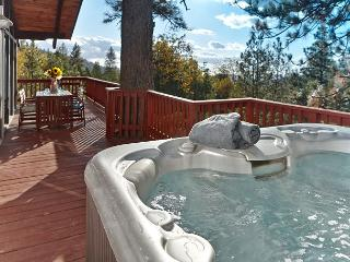 Walk to town spa and seculeded yard, Idyllwild