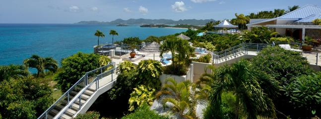 Villa Mes Amis SPECIAL OFFER: St. Martin Villa 541 A Superb Cliffside Location With Astounding Views Of The Ocean., Terres Basses