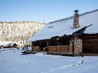 Authentic 3BR South Fork Log Cabin w/Private Hot Tub - Enjoy Outstanding Mountain Views!