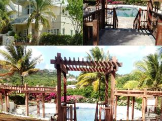 Large swimming pool & only 10 mins from the beach, Cap Estate