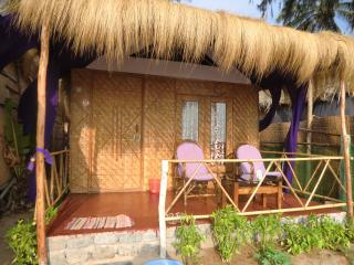 Front hut with full sea view - Agonda