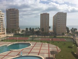 Modern apartment front line, Cullera