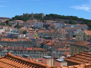 Stunning Castle View from Lisbon centre apartment