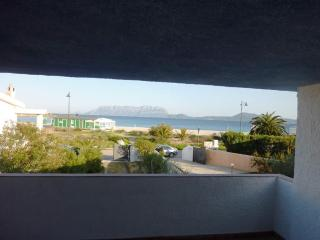 Villa in front of the sea and the beach, Olbia