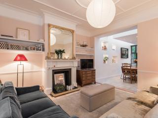 An elegant four-bedroom home in Chiswick., London